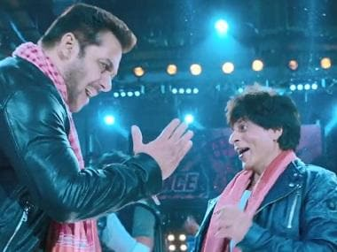 Zero song Issaqbaazi: Shah Rukh Khan, Salman Khan dance off in boisterous Ajay-Atul composition