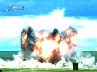 China develops its own 'Mother of All Bombs', says local news media; weapon smaller, lighter than American counterpart