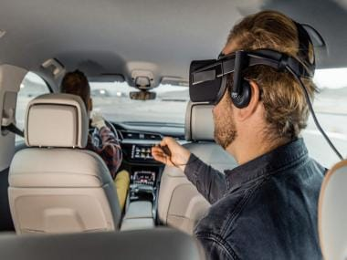 Audi's in-car entertainment system turns your car into a VR movie theatre: CES 2019