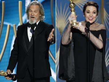 Golden Globes 2019 best moments — from Jeff Bridges' lifetime achievement award to Olivia Colman's acceptance speech