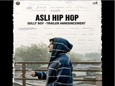 Watch: Ranveer Singh raps effortlessly to 'Asli Hip Hop'; Gully Boy trailer to release on 9 January