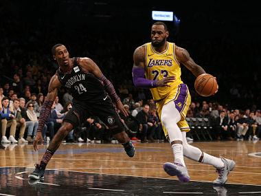 NBA: LeBron James-led Los Angeles Lakers to play two pre-season games against Brooklyn Nets in China