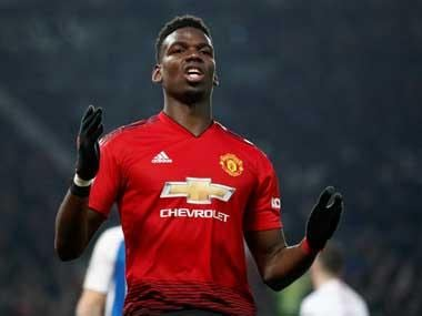 Premier League: Manchester United midfielder Paul Pogba's solution for racist abuse is to 'play well and not walk off'