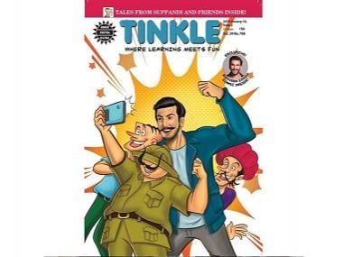 Ranveer Singh's Simmba features on cover page of Tinkle: 'This is one of the fondest memories from my childhood'