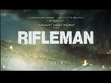 Rifleman: Sushant Singh Rajput shares teaser of upcoming film, will be seen playing a soldier