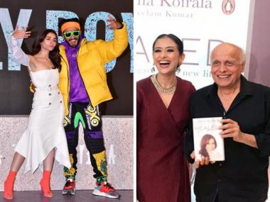 Ranveer Singh, Alia Bhatt attend Gully Boy trailer launch; Manisha Koirala launches book: Social Media Stalkers' Guide