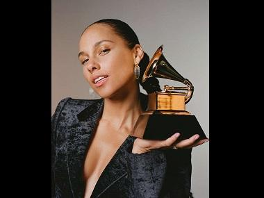 Alicia Keys roped in to host the 61st annual Grammy Awards in February