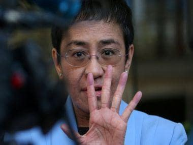 Philippines journalist Maria Ressa, who repeatedly clashed with President Rodrigo Duterte, arrested on 'cyber libel' charge