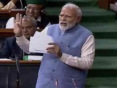 Narendra Modi's LS speech criticises opponents without rhetoric, histrionics; Rahul Gandhi may take note