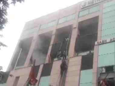 Massive fire breaks out at Noida's Metro Hospital; at least 40 patients evacuated so far, many more feared trapped