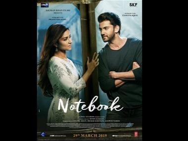 Notebook: Salman Khan introduces debutants Zaheer Iqbal, Pranutan Bahl with first look poster on Valentine's Day