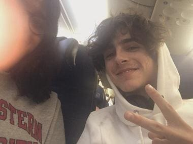 Timothee Chalamet finds company in Indian girl on a three-hour flight; fan writes detailed account on Twitter