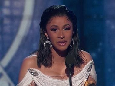 Grammys 2019: Cardi B makes history as first female solo artist to win Best Rap Album