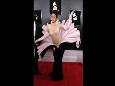 Cardi B, Miley Cyrus, Lady Gaga, Shawn Mendes on the Grammys 2019 red carpet