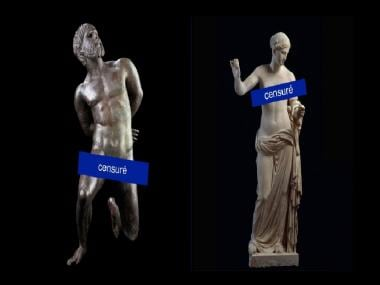 Statue of Limitation? Facebook bans museum from posting images of nude statues