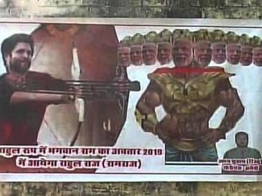 Rama, Ravana and Jhansi Ki Rani: Political leaders are often likened to historical figures, potrayed as demons and gods
