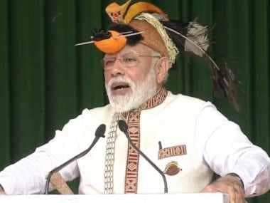 Narendra Modi lays foundation of projects worth Rs 4,000 crore in Arunachal Pradesh, vows to improve connectivity in state