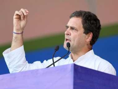 RSS and BJP wear half-pants and wield clubs while Congress works with love, says Rahul Gandhi in Ajmer