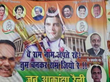 Complaint filed against Rahul Gandhi in Patna for 'hurting religious sentiments' after posters depict him as Lord Ram