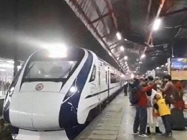 After replacing 12 damaged windows, Railways fit Vande Bharat Express with cameras to curb stone-pelting at train