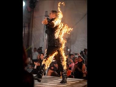Akshay Kumar sets himself on fire at Amazon Prime's The End launch, gets trolled by Twinkle Khanna