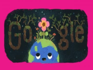 Spring 2019 officially kicks off and Google is celebrating that with a doodle