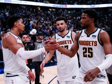 NBA Playoffs 2019: Jamal Murray leads dramatic late fightback for Nuggets against Spurs; Raptors, Blazers romp