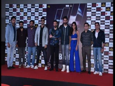 Blank: Sunny Deol, Karan Kapadia, Ishita Dutta Sheth attend trailer launch of upcoming thriller