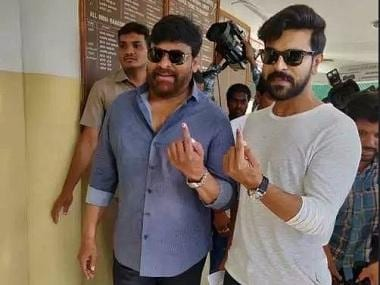 Lok Sabha Election 2019: Ram Charan, Chiranjeevi, SS Rajamouli share photos after casting their votes