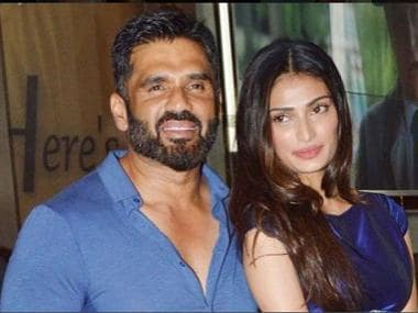 Suniel Shetty receives legal warning for interfering in daughter Athiya's upcoming film Motichoor Chaknachoor