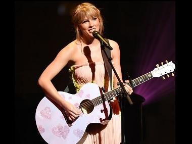 Taylor Swift takes to stage and performs her biggest hits at Time 100 Gala in New York City