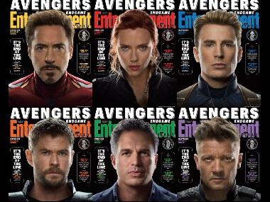 Avengers: Endgame — Marvel Cinematic Universe's original superheroes feature on Entertainment Weekly covers