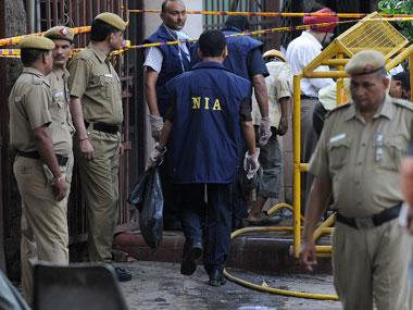 NIA raids 12 locations, including former Bihar MLC Hulas Pandey's residence, in AK-47 smuggling case