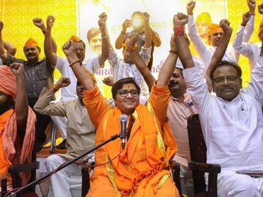 BJP says Sadhvi Pragya's comment on Hemant Karkare a 'personal view', asserts party always held him to be a 'martyr'