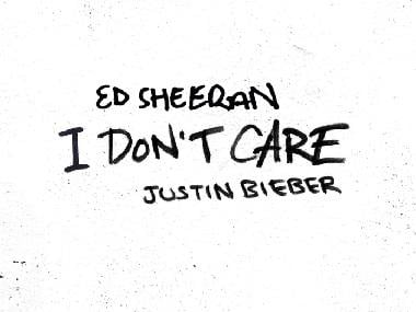 Ed Sheeran, Justin Bieber release catchy new collaborative single 'I Don't Care'