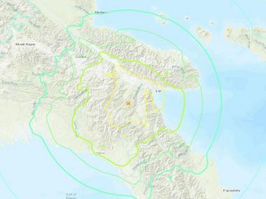 7.2 earthquake jolts Papua New Guinea, but officials rule out tsunami threat; no immediate reports of serious damage