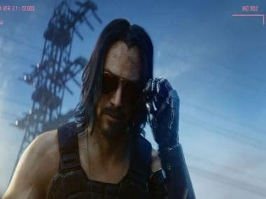 Keanu Reeves pops up in Cyberpunk 2077 reveal and the internet lost it