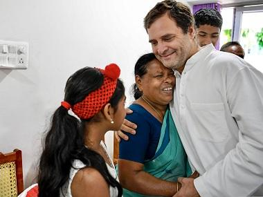 Rahul Gandhi meets Kerala nurse who witnessed his birth at Delhi hospital; woman gifts Congress chief jackfruit chips, sweets