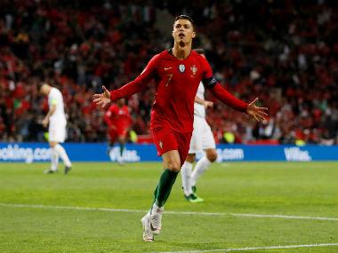 UEFA Nations League: 'Football genius' Cristiano Ronaldo scores hat-trick to send Portugal into final after VAR confusion