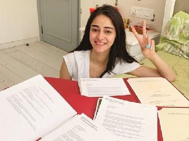 Ananya Panday dismisses reports of lying about USC admission, shares photo of acceptance letter