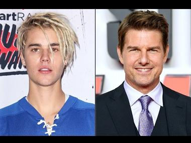 Justin Bieber challenges Tom Cruise to a UFC fight, only to back track and laugh it off next day