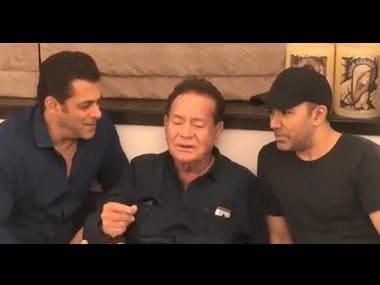 Watch: Salman Khan, father Salim sing classic Mohammed Rafi song, Suhaani Raat Dhal Chuki