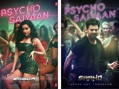 Saaho song 'Psycho Saiyaan' teaser: Prabhas, Shraddha Kapoor's party track to release on 8 July