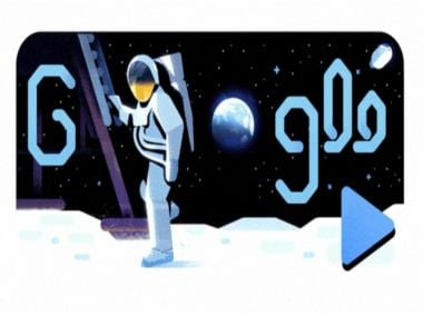 Apollo 11 Space Mission: Google Doodle celebrates 50 years since Apollo 11's journey to the Moon and back