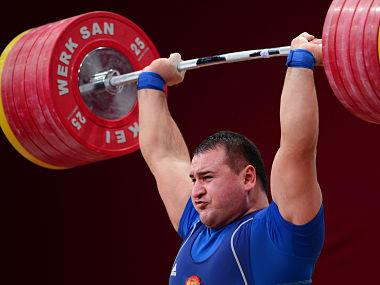 Five Russian weightlifters including 2012 Olympics silver medallist provisionally suspended after Moscow dope lab analysis