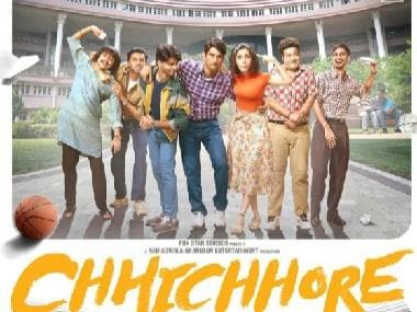 Chhichhore: New poster of Sushant Singh Rajput, Shraddha Kapoor's upcoming comedy film unveiled