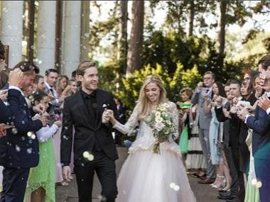 PewDiePie marries longtime partner Marzia Bisognin in London, says 'I'm the happiest I can be'