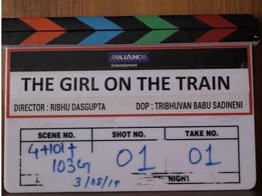 Parineeti Chopra's Hindi remake of The Girl on The Train goes on floors; makers aim for 2020 release