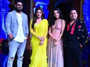 Saaho cast, including Prabhas, Shraddha Kapoor, promote upcoming action thriller on Nach Baliye 9