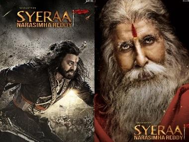 Sye Raa Narasimha Reddy character posters of Chiranjeevi, Amitabh, Tamannaah dropped ahead of teaser release